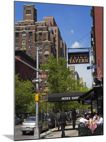 Pete's Tavern on Irving Place, Gramercy Park District, Manhattan, New York City, Ny, USA-Richard Cummins-Mounted Photographic Print