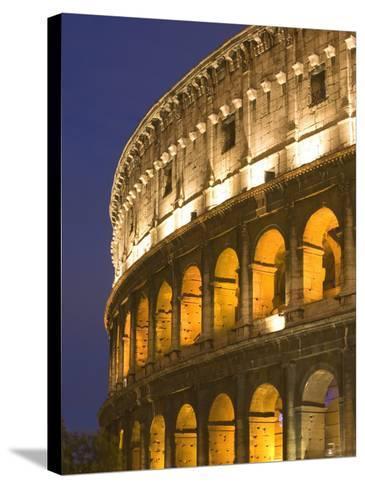 Colosseum, Rome, Lazio, Italy, Europe-Marco Cristofori-Stretched Canvas Print