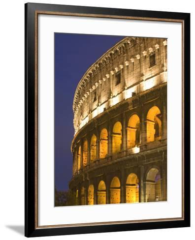 Colosseum, Rome, Lazio, Italy, Europe-Marco Cristofori-Framed Art Print