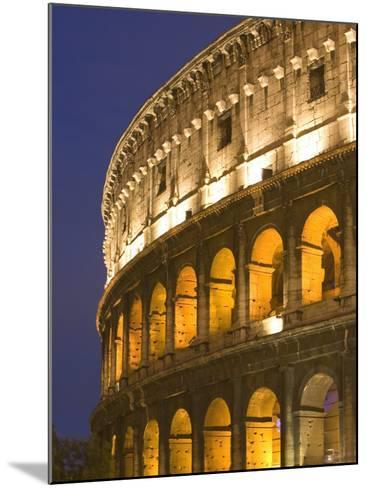 Colosseum, Rome, Lazio, Italy, Europe-Marco Cristofori-Mounted Photographic Print
