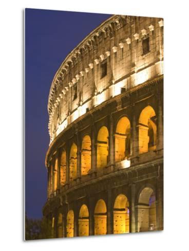 Colosseum, Rome, Lazio, Italy, Europe-Marco Cristofori-Metal Print