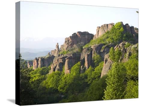 Rock Formations, Belogradchik, Bulgaria, Europe-Marco Cristofori-Stretched Canvas Print