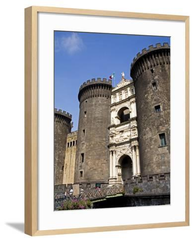 Entrance to Nuovo Castle, Naples, Campania, Italy, Europe-Richard Cummins-Framed Art Print