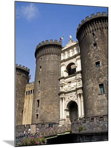 Entrance to Nuovo Castle, Naples, Campania, Italy, Europe-Richard Cummins-Mounted Photographic Print
