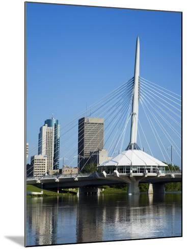 Esplanade Riel Pedestrian Bridge, Winnipeg, Manitoba, Canada, North America-Richard Cummins-Mounted Photographic Print