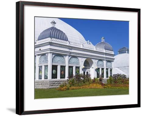 Botanical Gardens, Buffalo, New York State, United States of America, North America-Richard Cummins-Framed Art Print