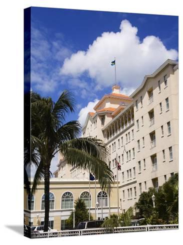 British Colonial Hotel, Nassau, New Providence Island, Bahamas, West Indies, Central America-Richard Cummins-Stretched Canvas Print
