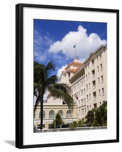 British Colonial Hotel, Nassau, New Providence Island, Bahamas, West Indies, Central America-Richard Cummins-Framed Art Print