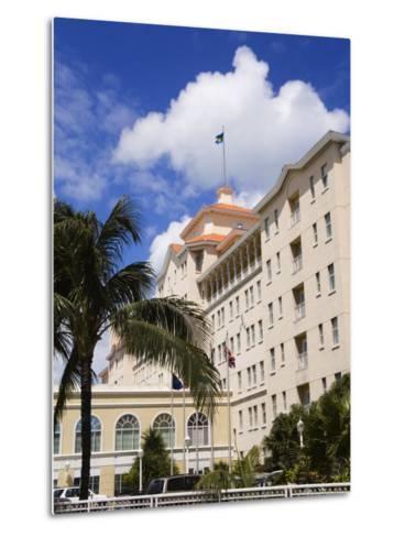 British Colonial Hotel, Nassau, New Providence Island, Bahamas, West Indies, Central America-Richard Cummins-Metal Print