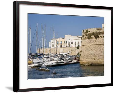 Castle, Gallipoli, Lecce Province, Puglia, Italy, Europe-Marco Cristofori-Framed Art Print