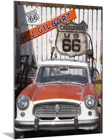 Memorabilia, Route 66 Motel, Barstow, California, United States of America, North America-Richard Cummins-Mounted Photographic Print