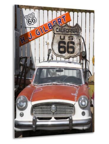 Memorabilia, Route 66 Motel, Barstow, California, United States of America, North America-Richard Cummins-Metal Print