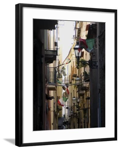 Seaside Town of Sorrento, Near Naples, Campania, Italy, Europe-Ethel Davies-Framed Art Print