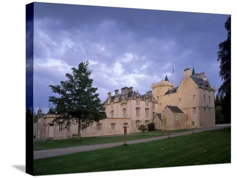 Brodie Castle, Near Forres, Morayshire, Scotland, UK-Patrick Dieudonne-Stretched Canvas Print