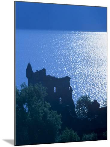 Urquhart Castle, Built in the 13th Century, Shores of Loch Ness, Highland Region, Scotland-Patrick Dieudonne-Mounted Photographic Print