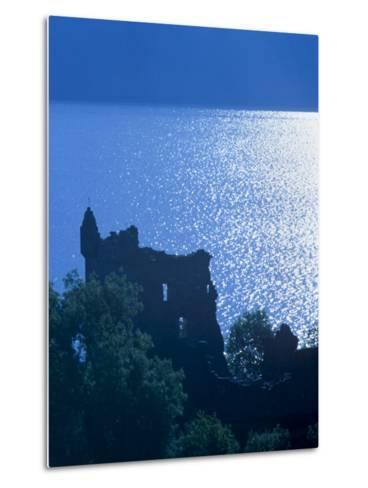 Urquhart Castle, Built in the 13th Century, Shores of Loch Ness, Highland Region, Scotland-Patrick Dieudonne-Metal Print