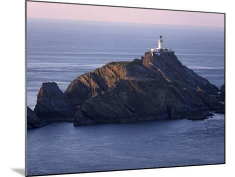 Muckle Flugga and its Lighthouse, Hermaness Nature Reserve, Unst, Shetland Islands, Scotland-Patrick Dieudonne-Mounted Photographic Print