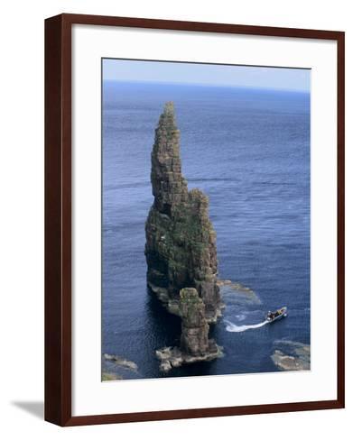 Duncansby Head, Caithness, Highland Region, Scotland, United Kingdom, Europe-Patrick Dieudonne-Framed Art Print