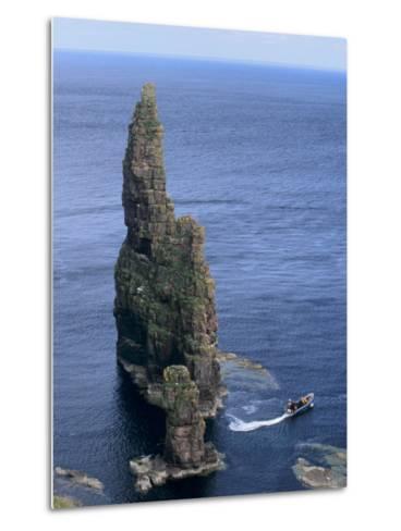 Duncansby Head, Caithness, Highland Region, Scotland, United Kingdom, Europe-Patrick Dieudonne-Metal Print