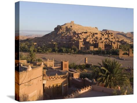 Old City, the Location for Many Films, Ait Ben Haddou, UNESCO World Heritage Site, Morocco-Ethel Davies-Stretched Canvas Print