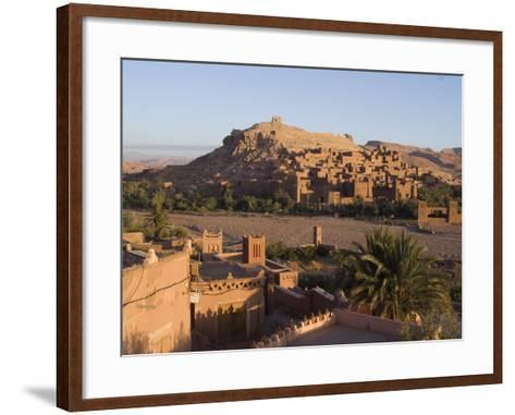 Old City, the Location for Many Films, Ait Ben Haddou, UNESCO World Heritage Site, Morocco-Ethel Davies-Framed Art Print