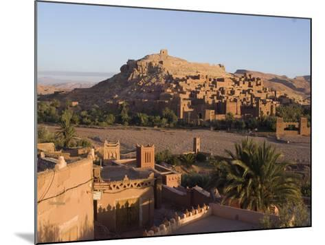 Old City, the Location for Many Films, Ait Ben Haddou, UNESCO World Heritage Site, Morocco-Ethel Davies-Mounted Photographic Print