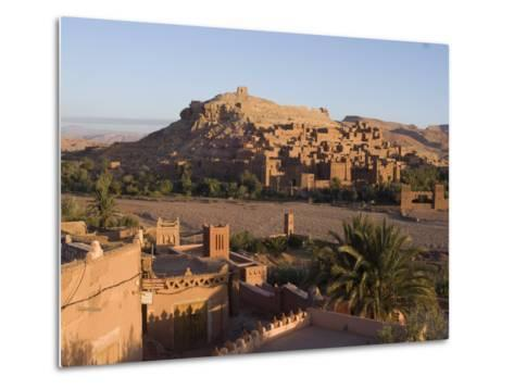 Old City, the Location for Many Films, Ait Ben Haddou, UNESCO World Heritage Site, Morocco-Ethel Davies-Metal Print