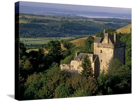 Castle Campbell, 15th Century, at Head of Dollar Glen, Dollar, Clackmannanshire, Scotland, UK-Patrick Dieudonne-Stretched Canvas Print