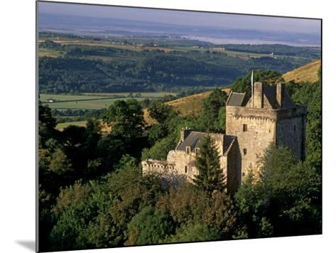 Castle Campbell, 15th Century, at Head of Dollar Glen, Dollar, Clackmannanshire, Scotland, UK-Patrick Dieudonne-Mounted Photographic Print
