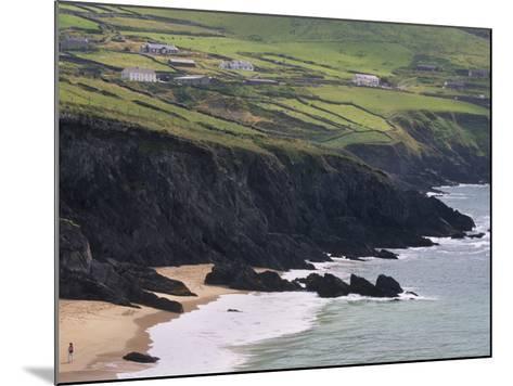 Rocky Coast and Beach, Slea Head, Dingle Peninsula, County Kerry, Munster, Republic of Ireland-Patrick Dieudonne-Mounted Photographic Print