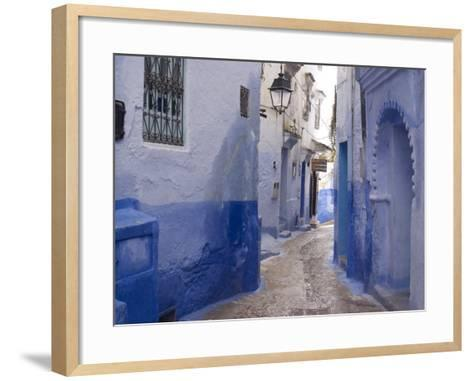 Chefchaouen, Near the Rif Mountains, Morocco, North Africa, Africa-Ethel Davies-Framed Art Print