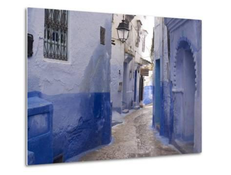 Chefchaouen, Near the Rif Mountains, Morocco, North Africa, Africa-Ethel Davies-Metal Print