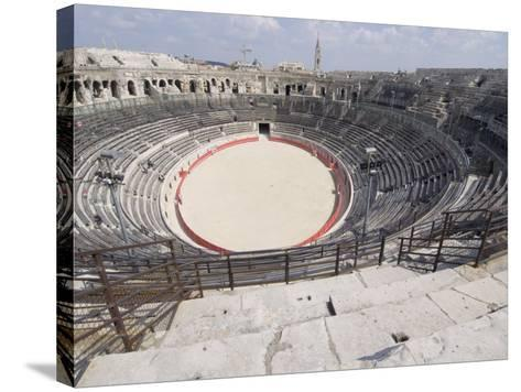 Roman Arena, Nimes, Languedoc, France, Europe-Ethel Davies-Stretched Canvas Print