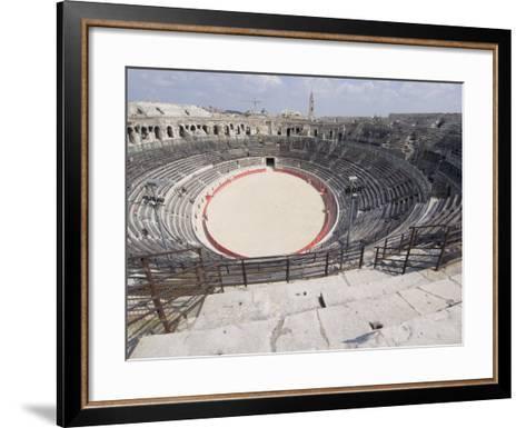Roman Arena, Nimes, Languedoc, France, Europe-Ethel Davies-Framed Art Print