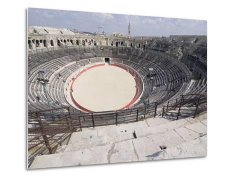 Roman Arena, Nimes, Languedoc, France, Europe-Ethel Davies-Metal Print