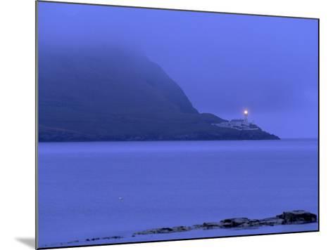 Bressay Lighthouse, Kirkabister Ness, Bressay, Shetland Islands, Scotland, United Kingdom, Europe-Patrick Dieudonne-Mounted Photographic Print