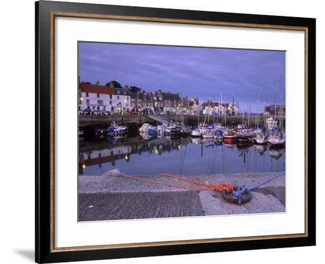 Findochty Harbour, Morayshire, Scotland, United Kingdom, Europe-Patrick Dieudonne-Framed Art Print