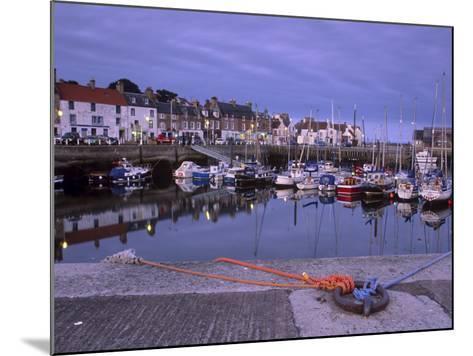 Findochty Harbour, Morayshire, Scotland, United Kingdom, Europe-Patrick Dieudonne-Mounted Photographic Print