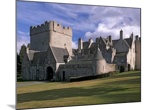 Drum Castle, with a 13th Century Keep, Near Peterculter, Aberdeenshire, Scotland, UK-Patrick Dieudonne-Mounted Photographic Print
