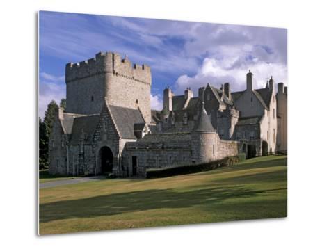 Drum Castle, with a 13th Century Keep, Near Peterculter, Aberdeenshire, Scotland, UK-Patrick Dieudonne-Metal Print