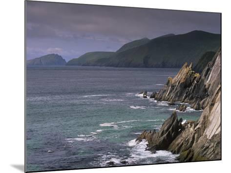 Slea Head, and Blasket Islands, Dingle Peninsula, County Kerry, Munster, Republic of Ireland-Patrick Dieudonne-Mounted Photographic Print