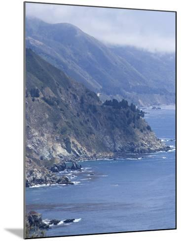 Coastline and Highway 1, Big Sur, California, United States of America, North America-Ethel Davies-Mounted Photographic Print