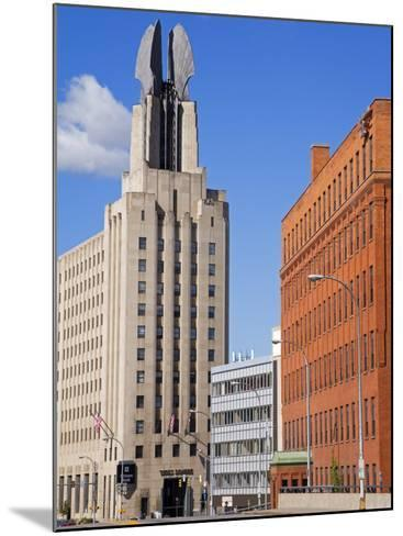 Times Square Tower, Rochester, New York State, United States of America, North America-Richard Cummins-Mounted Photographic Print