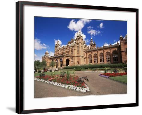 Kelvingrove Art Gallery, Dating from the 19th Century, Glasgow, Scotland, United Kingdom, Europe-Patrick Dieudonne-Framed Art Print