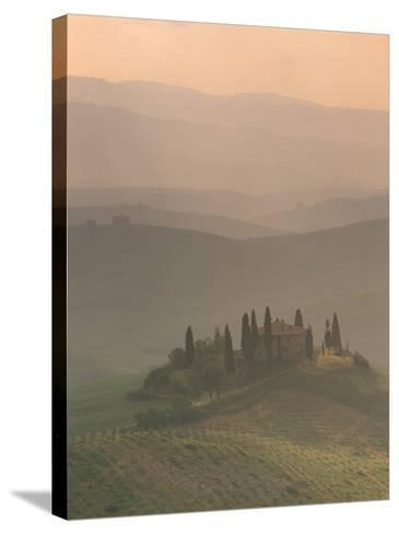 Landscape Near San Quirico D'Orcia, Tuscany, Italy, Europe-Patrick Dieudonne-Stretched Canvas Print