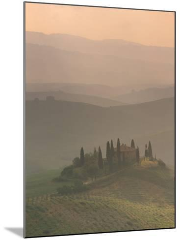 Landscape Near San Quirico D'Orcia, Tuscany, Italy, Europe-Patrick Dieudonne-Mounted Photographic Print
