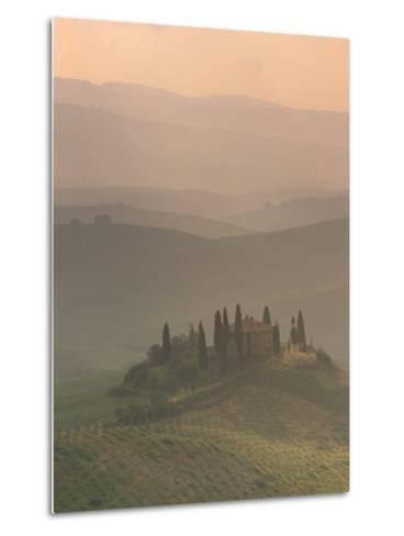Landscape Near San Quirico D'Orcia, Tuscany, Italy, Europe-Patrick Dieudonne-Metal Print