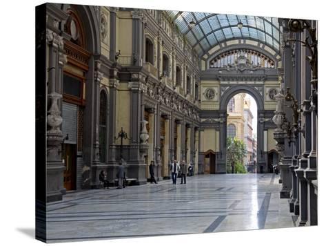 Galleria Principe Di Napoli, Naples, Campania, Italy, Europe-Richard Cummins-Stretched Canvas Print
