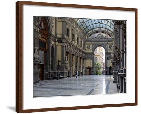 Galleria Principe Di Napoli, Naples, Campania, Italy, Europe-Richard Cummins-Framed Art Print