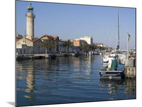 Harbour, Le Grau Du Roi, Languedoc, France, Europe-Ethel Davies-Mounted Photographic Print